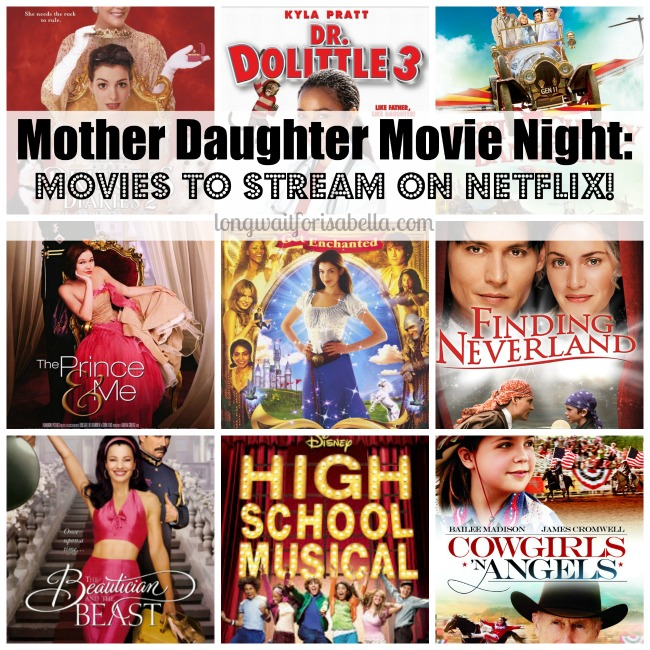 Mother Daughter Movie Night Movies