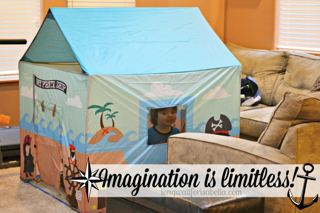 My Pirate Ship Play Tent