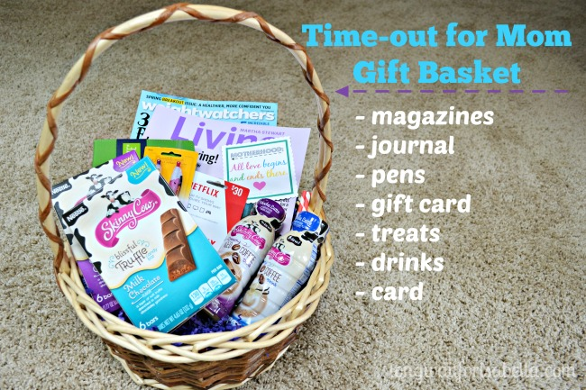 Time Out For Mom Gift Basket