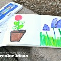 Watercolor Ideas for Kids!