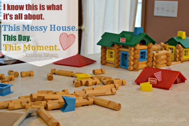 Messy House Quote