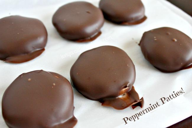 Peppermint Patties Recipe