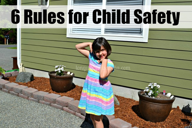 Rules for Child Safety