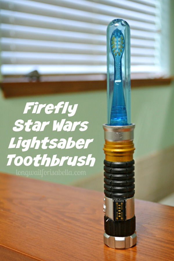 Star Wars Lightsaber Toothbrush