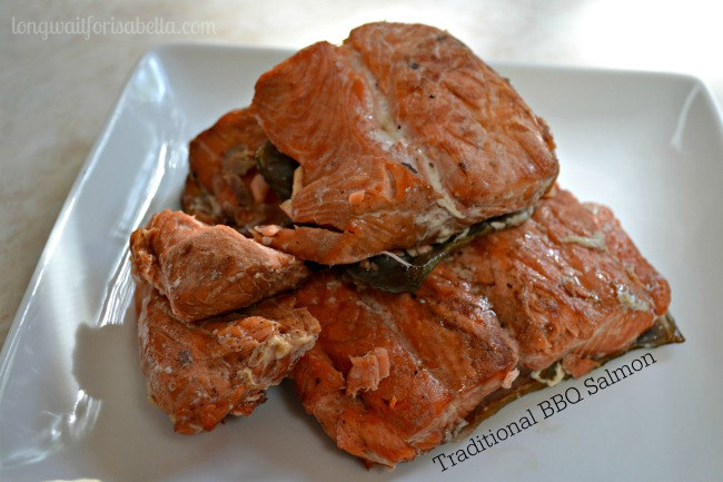 Traditional BBQ Salmon