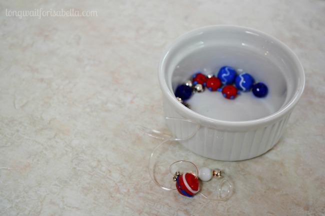 Patriotic Lampwork Bracelet Kit