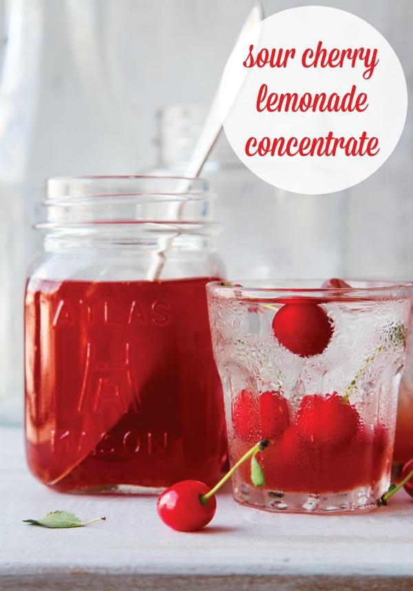 Sour Cherry Lemonade Concentrate