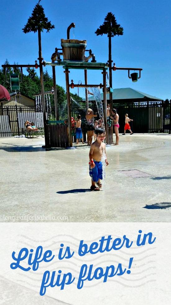 Summer Flip Flops Quote