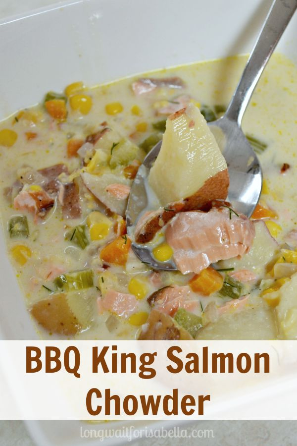 BBQ King Salmon Chowder