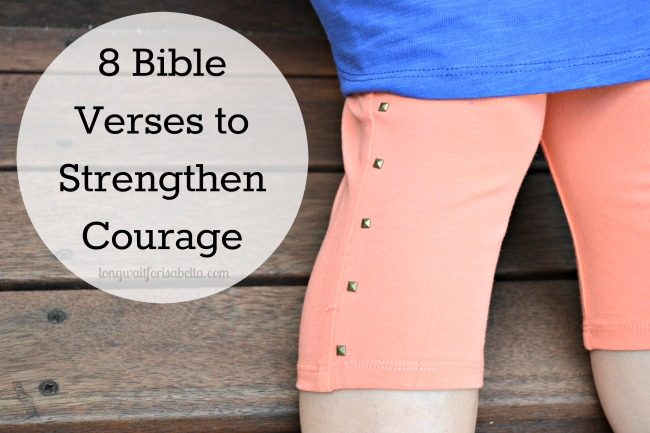 Courage Bible Verses