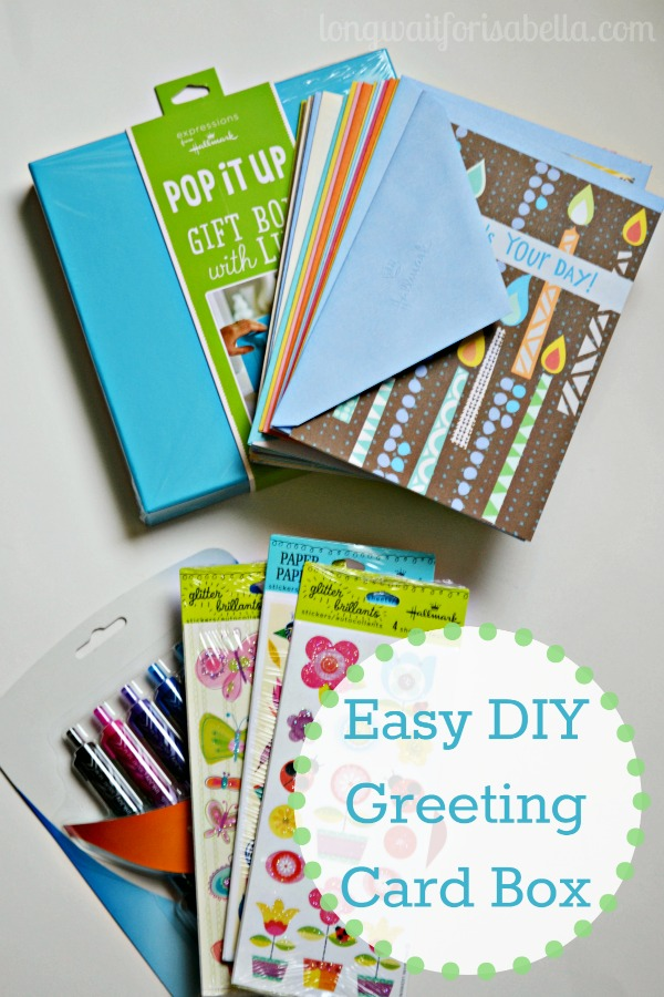 DIY Greeting Card Box
