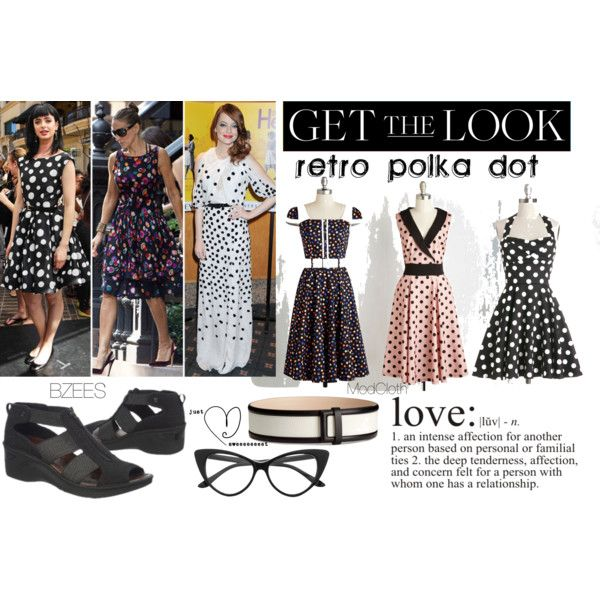 Retro Polka Dot Dresses