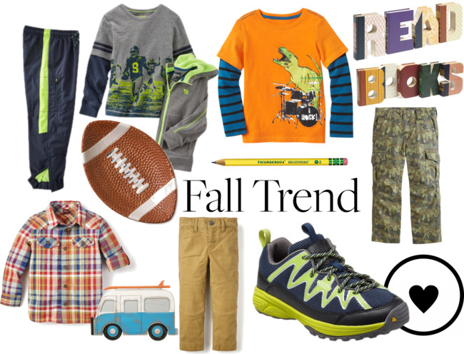 Boys Fall Fashion (My Little Man is Going to Preschool!)