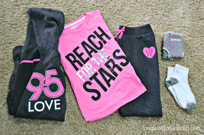 Girls Active Wear Outfit