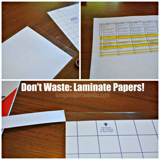 Laminate Papers