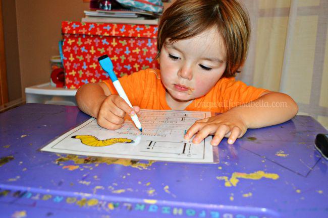 Preschool Letter Worksheet