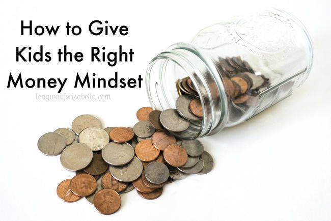How to Give Kids the Right Money Mindset