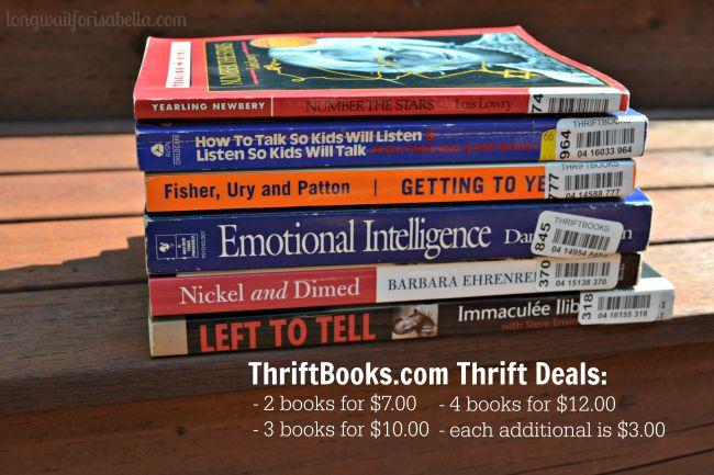 Thrift Books Thrift Deals