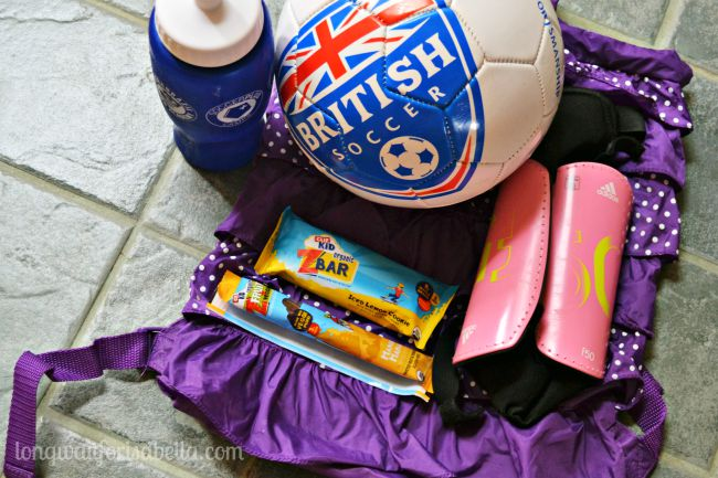 soccer camp bag