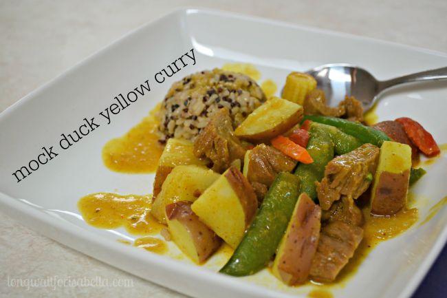 vegetarian yellow curry recipe