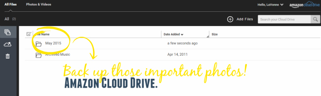 Amazon Cloud Drive for Computer