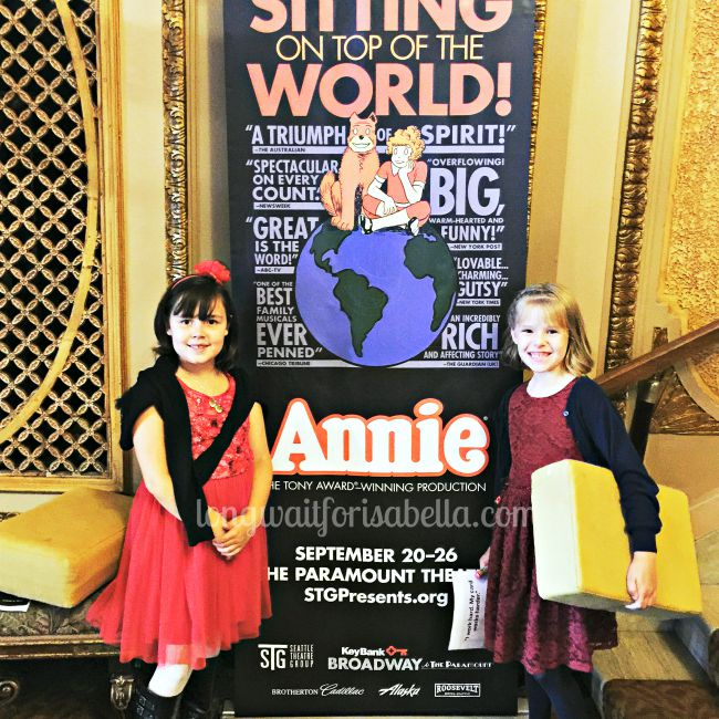 Annie at the Paramount