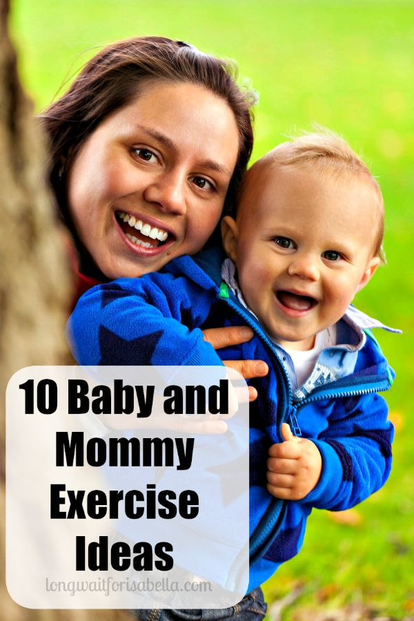 Baby and Mommy Exercise