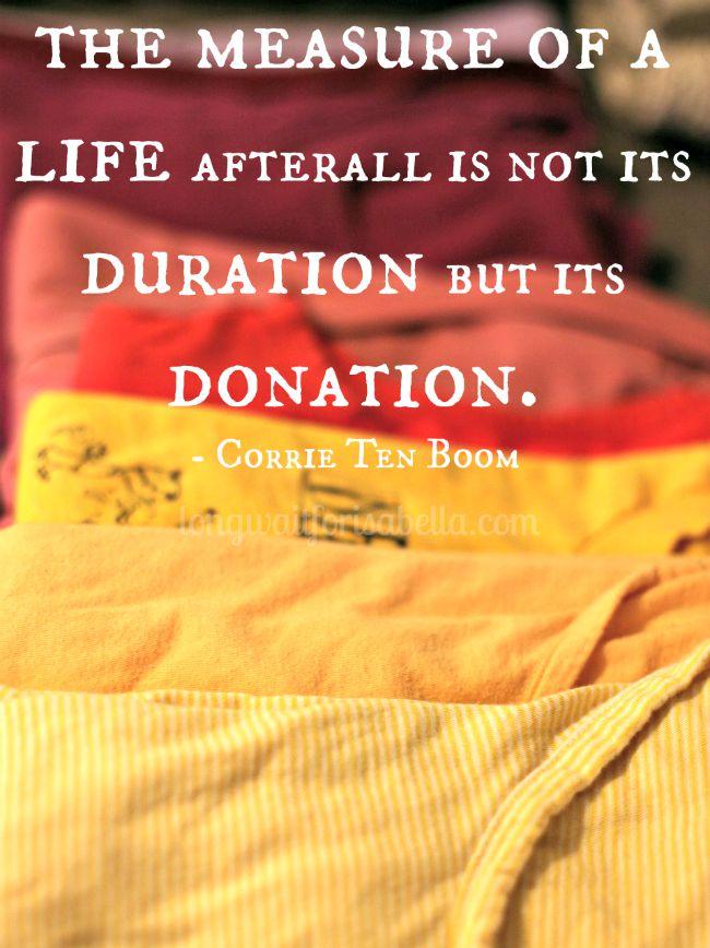 Corrie Ten Boom Life Quote
