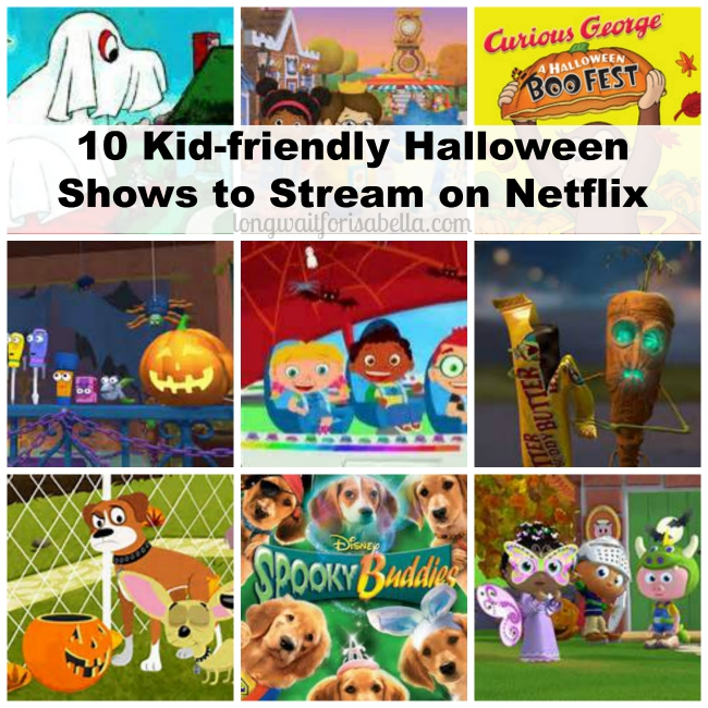 kid friendly halloween shows