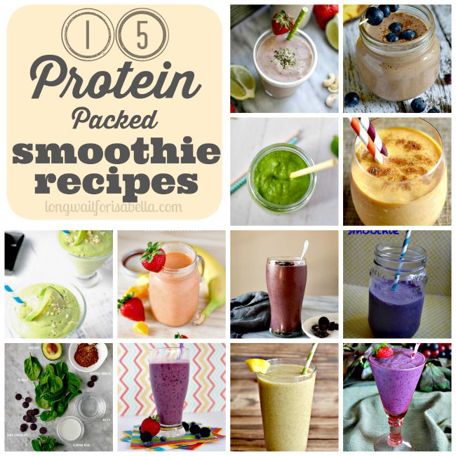 15 Protein Packed Smoothie Recipes To Try