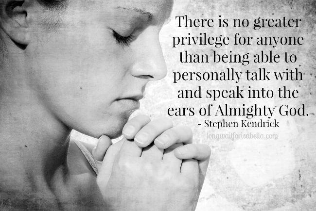Stephen Kendrick quote