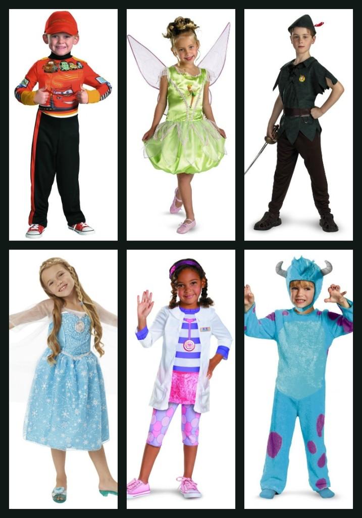 65 Disney Costumes for Kids!
