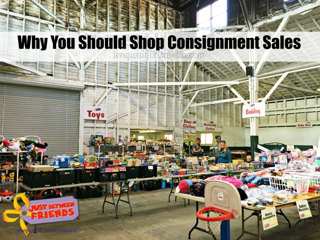 Why You Should Shop Consignment Sales