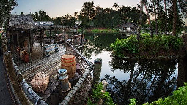 tom sawyer island magic kingdom