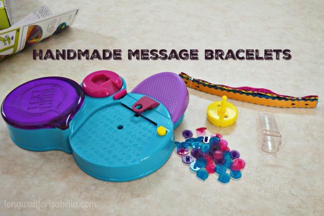 Handmade Message Bracelets