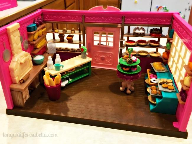 Lil Woodzeez Bakery Set Up