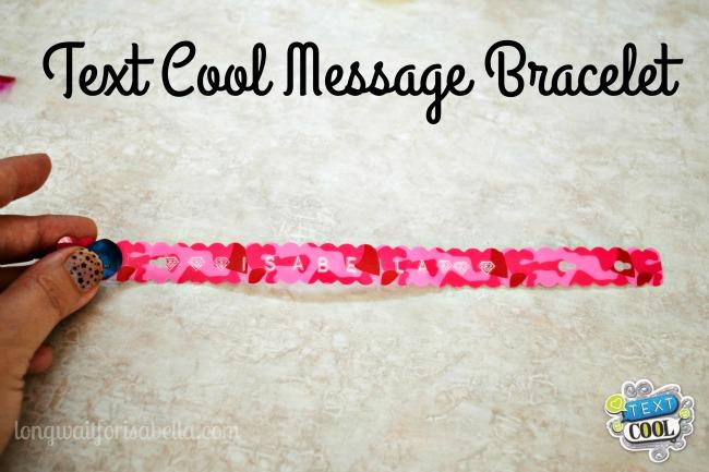 Text Cool Message Bracelet