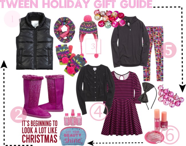 Tween Holiday Gift Guide: Fun Tween Girls Fashion Picks