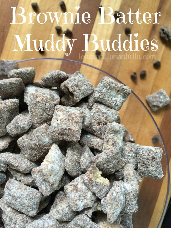 Brownie Batter Muddy Buddies