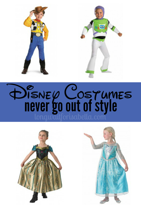 Disney Costumes Never Go out of Style