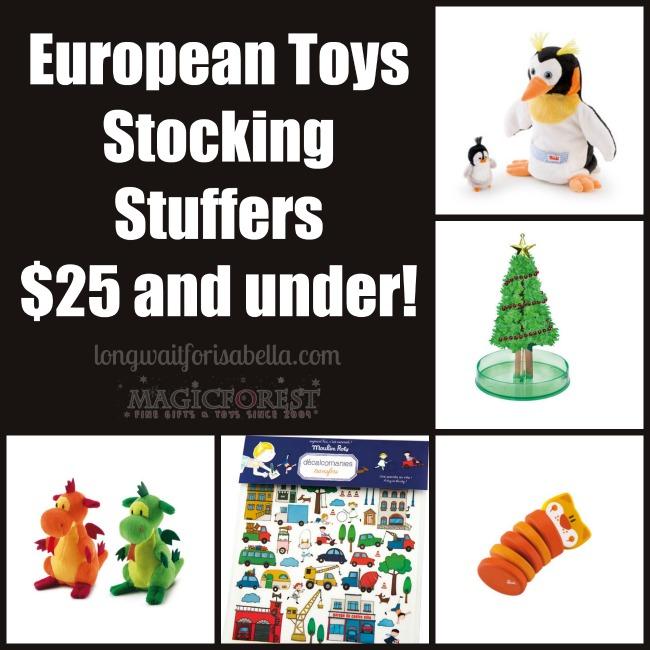 European Toys stocking stuffers