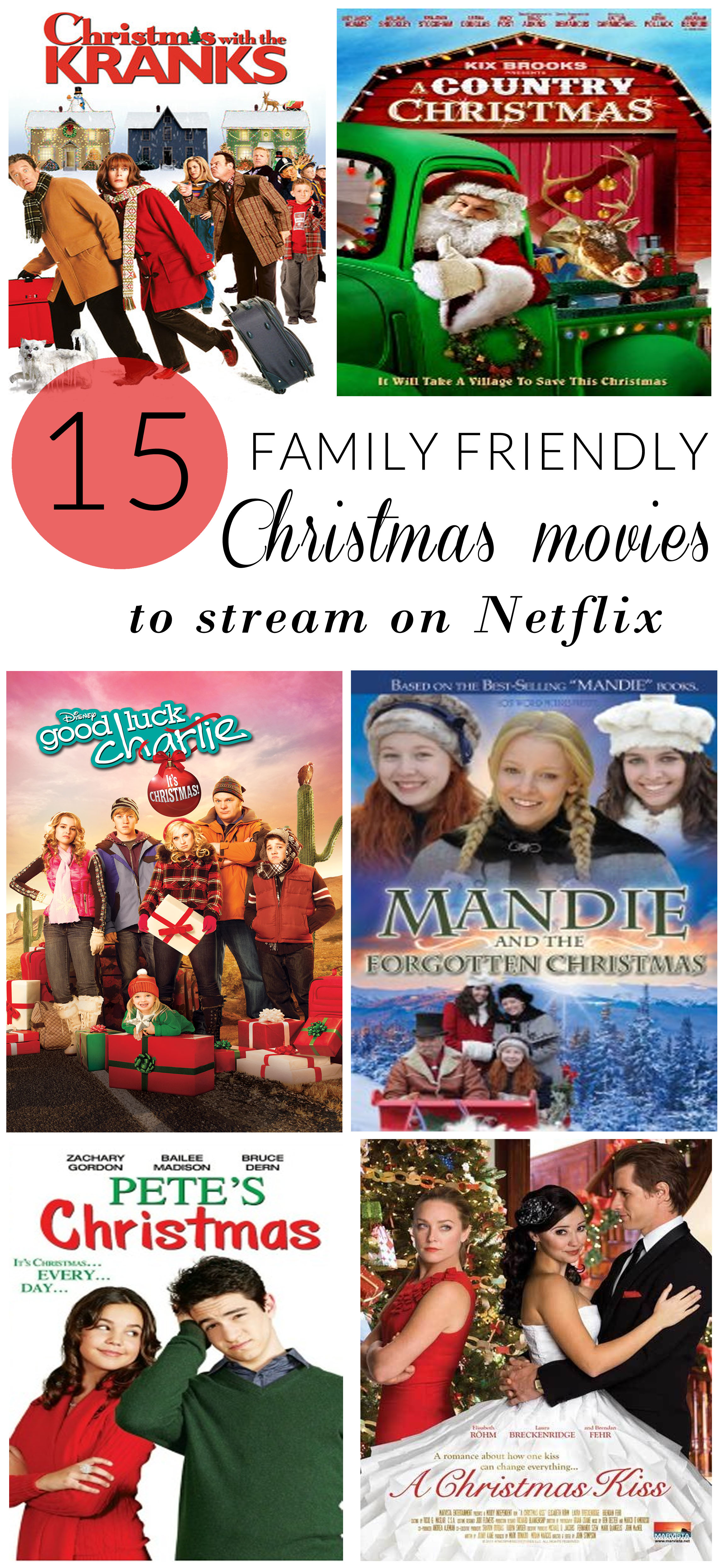15 Family Friendly Christmas Movies to Stream on Netflix