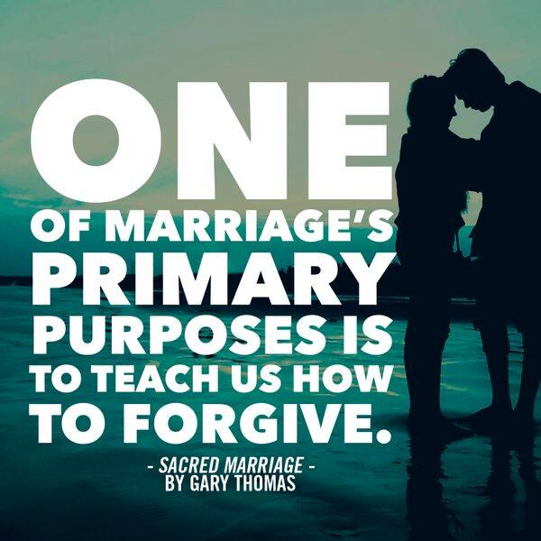 sacred marriage forgiveness
