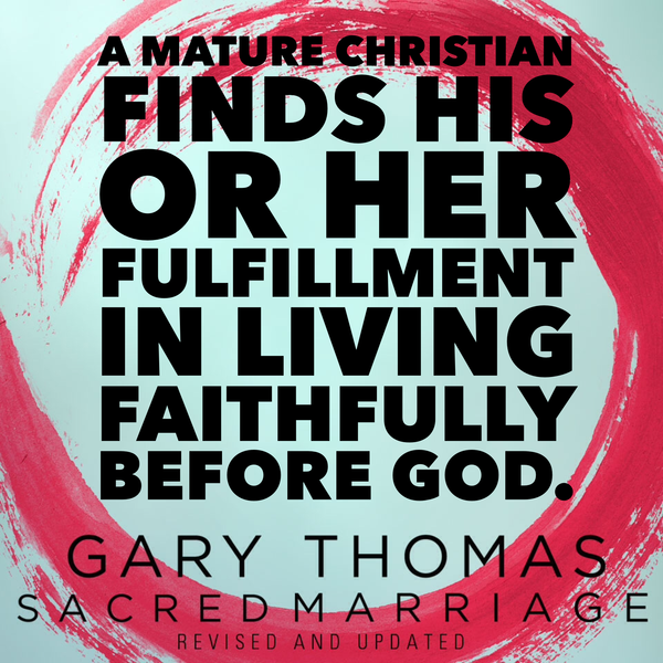 sacred marriage mature christian
