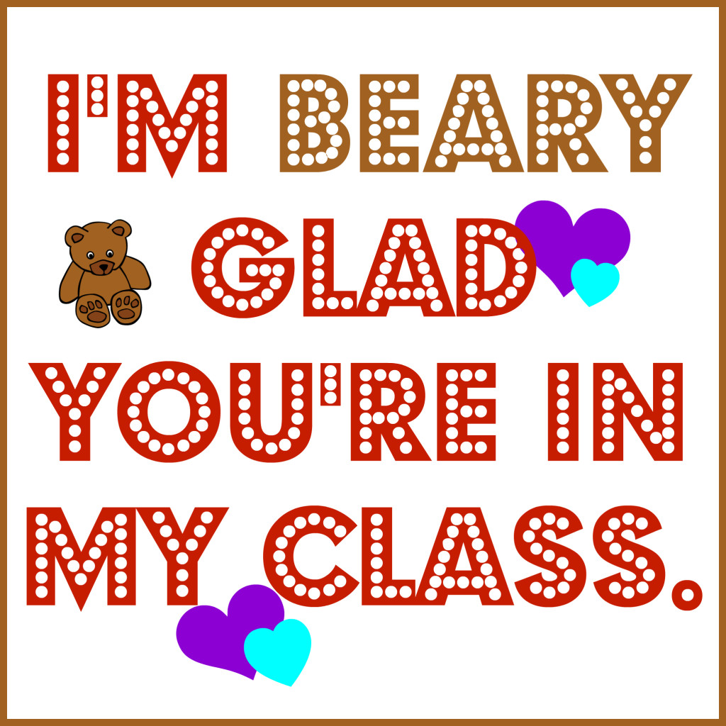 Beary Glad Valentine