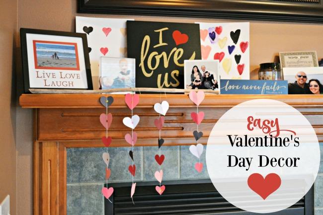 Easy Valentine's Day Decor