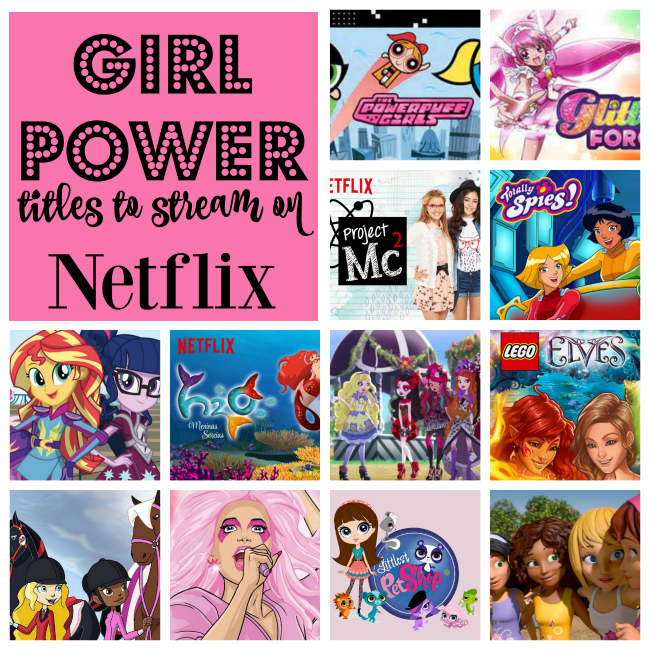 Girl Power Shows on Netflix