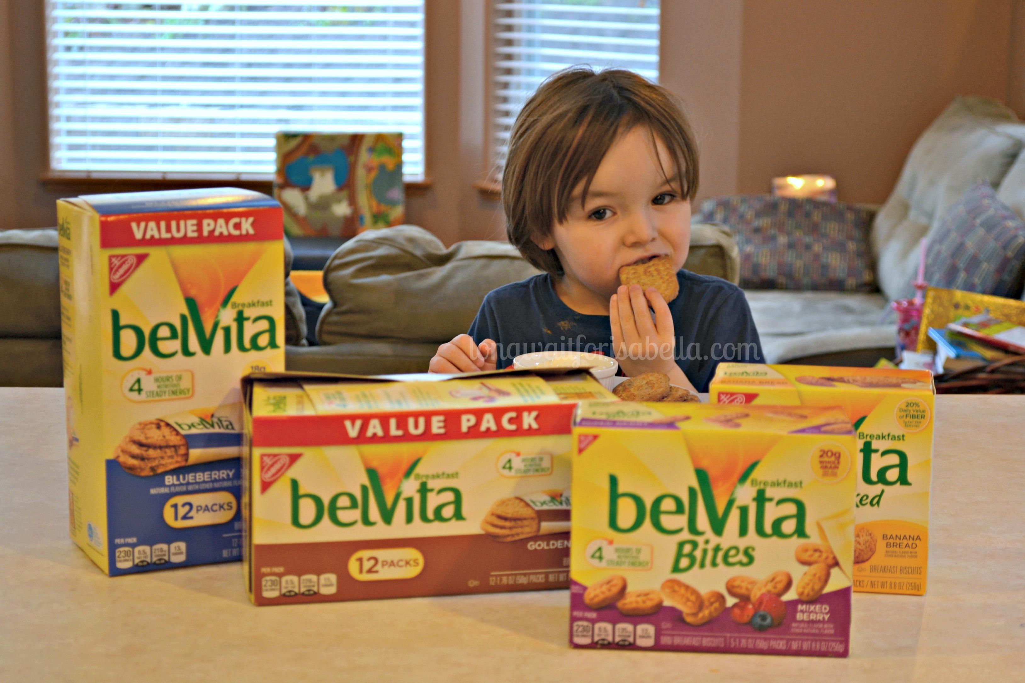 Kids Love belVita