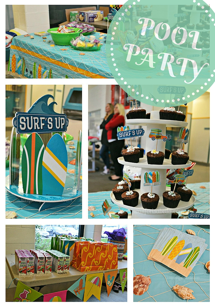 Surf's Up Pool Party Decoration