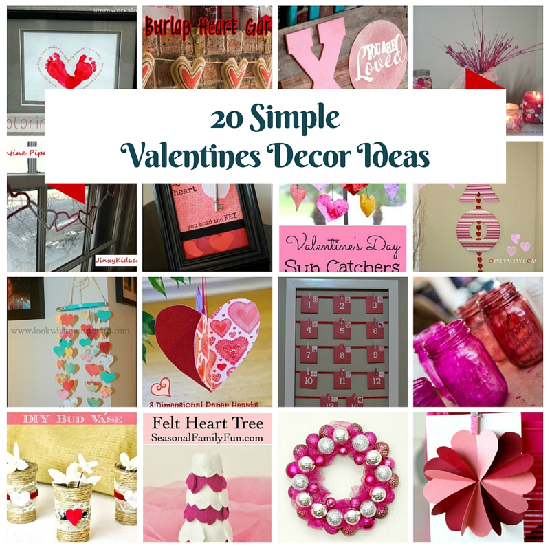 Faith Inspired Valentines Day Decor